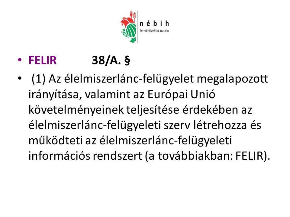 FELIR 38/A.