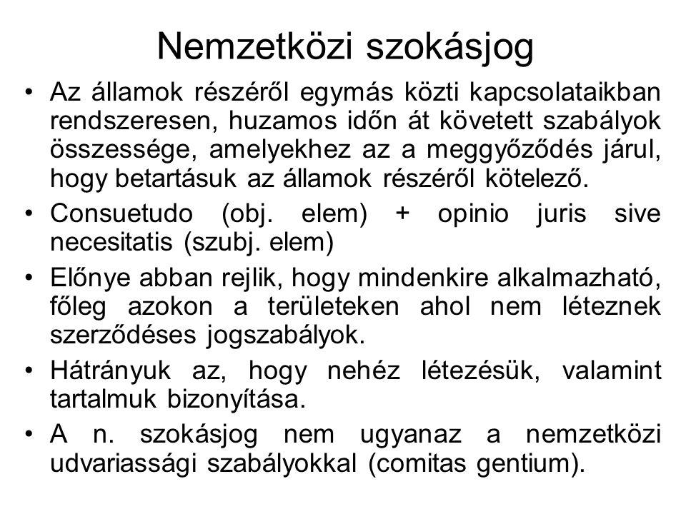 A nsz.-ek osztályozása: A szerződő felek száma szerint: két- és többoldalú szerződés.