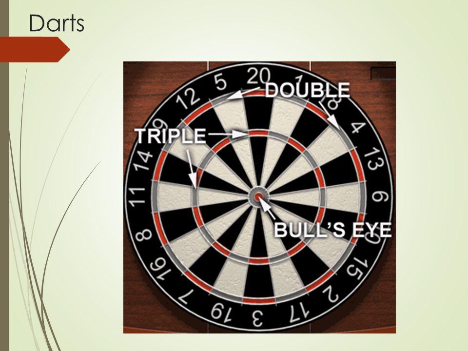 Fogalomtár:  Dupla be: 01 játékban dupla be esetén csak akkor kezdődik a pontok levonása, miután a játékos egy dupla szektort dobott.