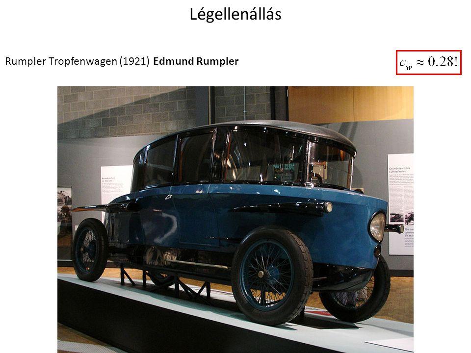 Légellenállás Rumpler Tropfenwagen (1921) Edmund Rumpler