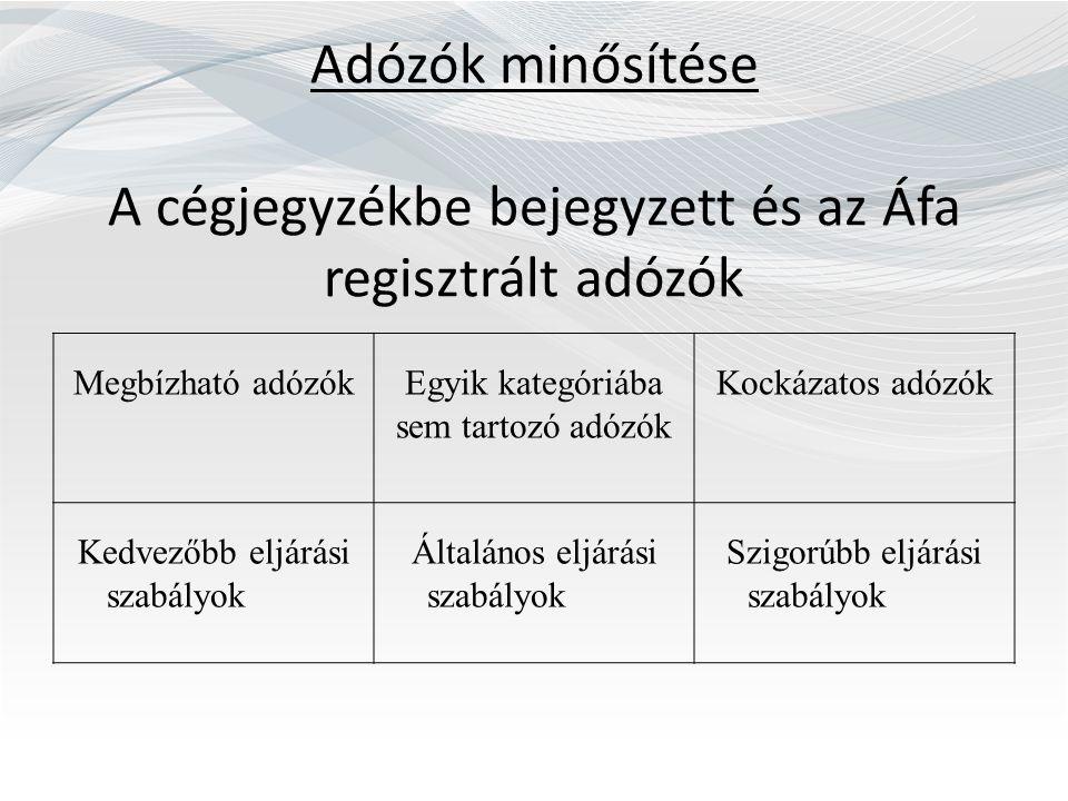 Egyéb módosítások II.