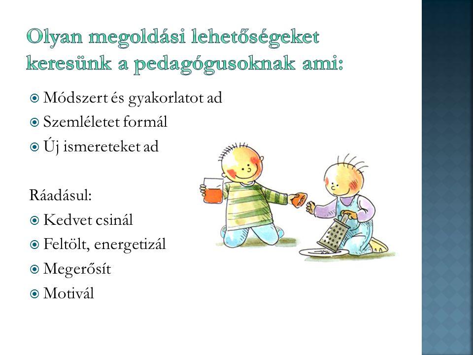  Mit jelent. Értéket alkotó SZABADIDŐ-SZERVEZÉS-t  Akkreditált pedagógus-továbbképzést.