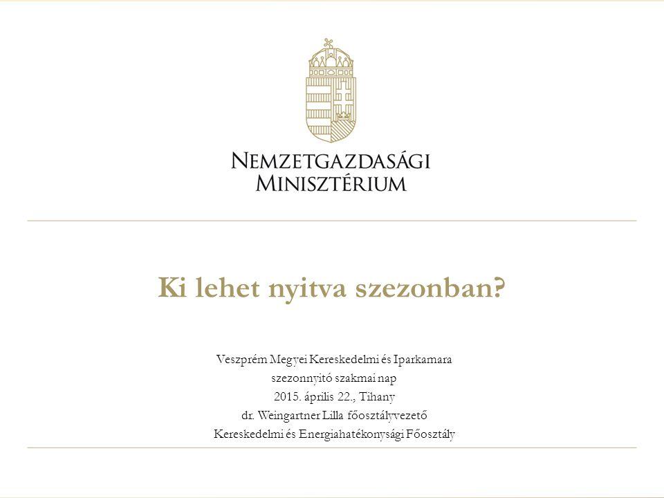 Veszprém Megyei Kereskedelmi és Iparkamara szezonnyitó szakmai nap 2015.