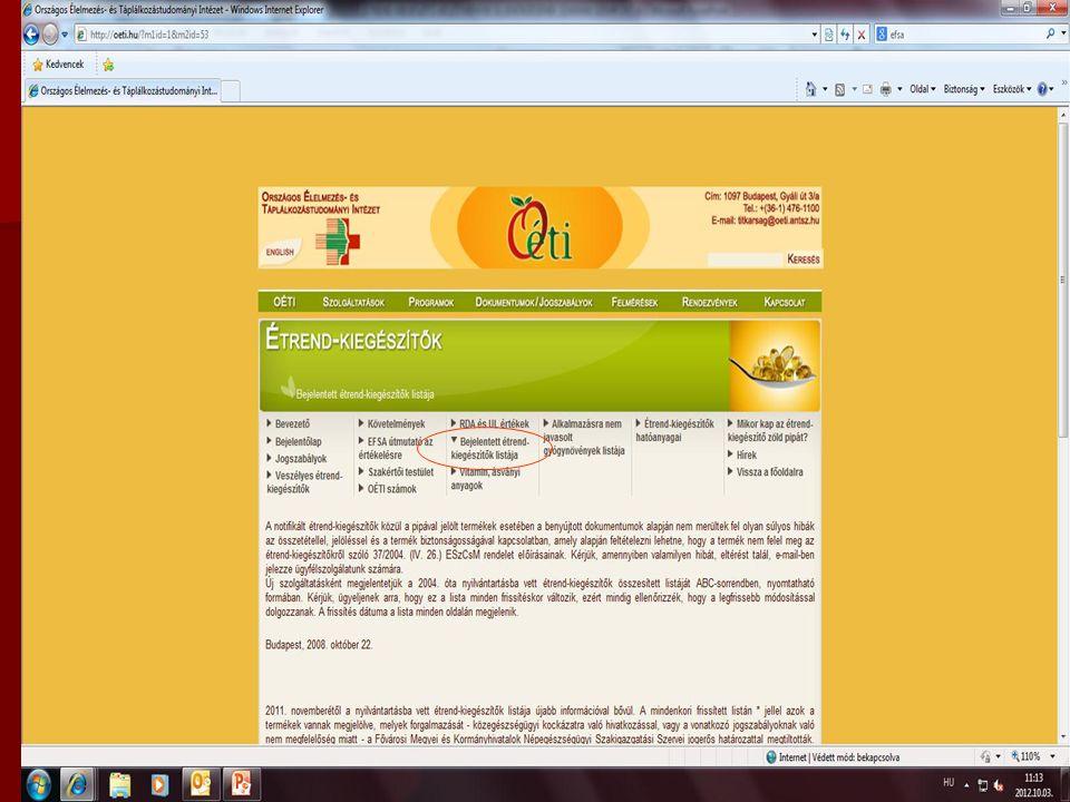 """Megfelelőségi jellel ellátott √ """"zöld pipa Megfelelőségi jellel ellátott √ """"zöld pipa Kifogásolt készítmény """"nem rendelkezik zöld pipával Kifogásolt készítmény """"nem rendelkezik zöld pipával 1) Összetételi hiba-közegészségügyi kockázat 2) Jelölési hiba Súlyos hiányosság, egészségkárosító termék (jogerős határozattal termék) * Súlyos hiányosság, egészségkárosító termék (jogerős határozattal termék) *"""
