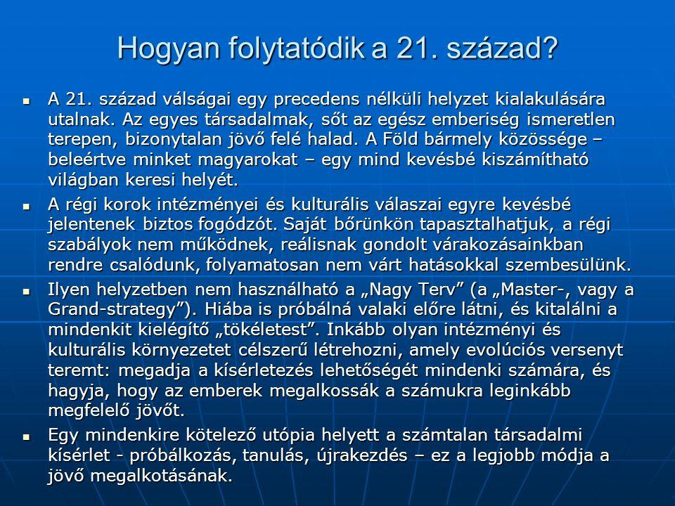 Hogyan folytatódik a 21. század. A 21.