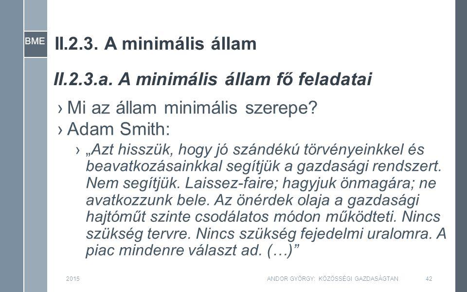 BME II.2.3. A minimális állam ›Mi az állam minimális szerepe.