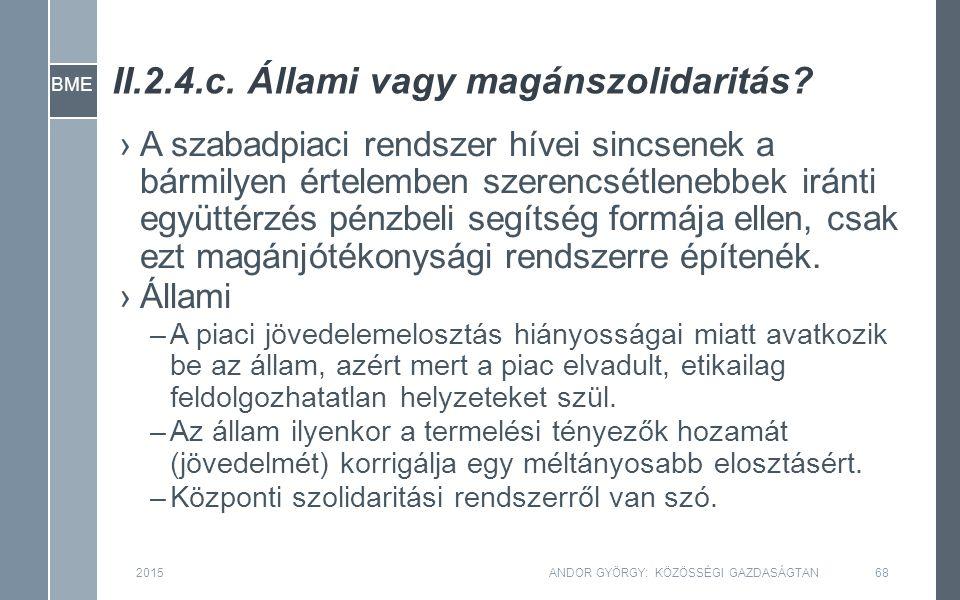 BME II.2.4.c. Állami vagy magánszolidaritás.