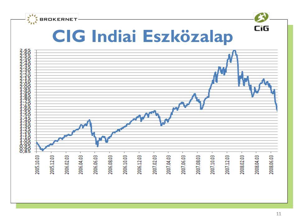 11 CIG Indiai Eszközalap