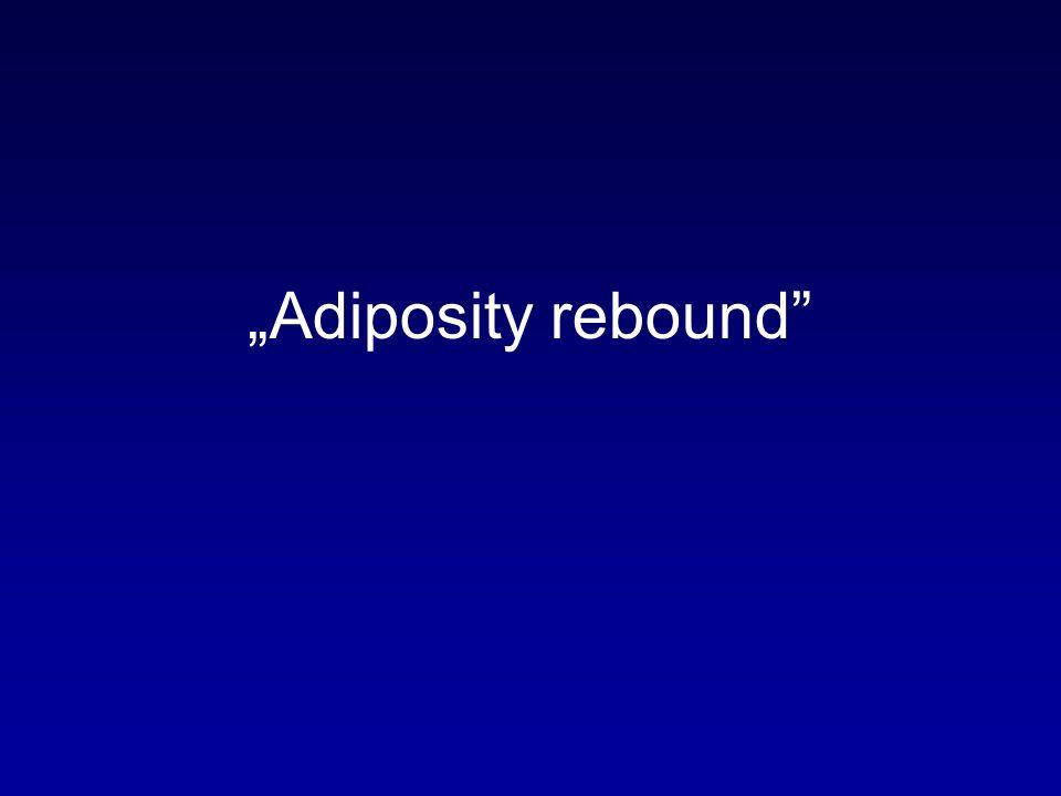 """""""Adiposity rebound"""