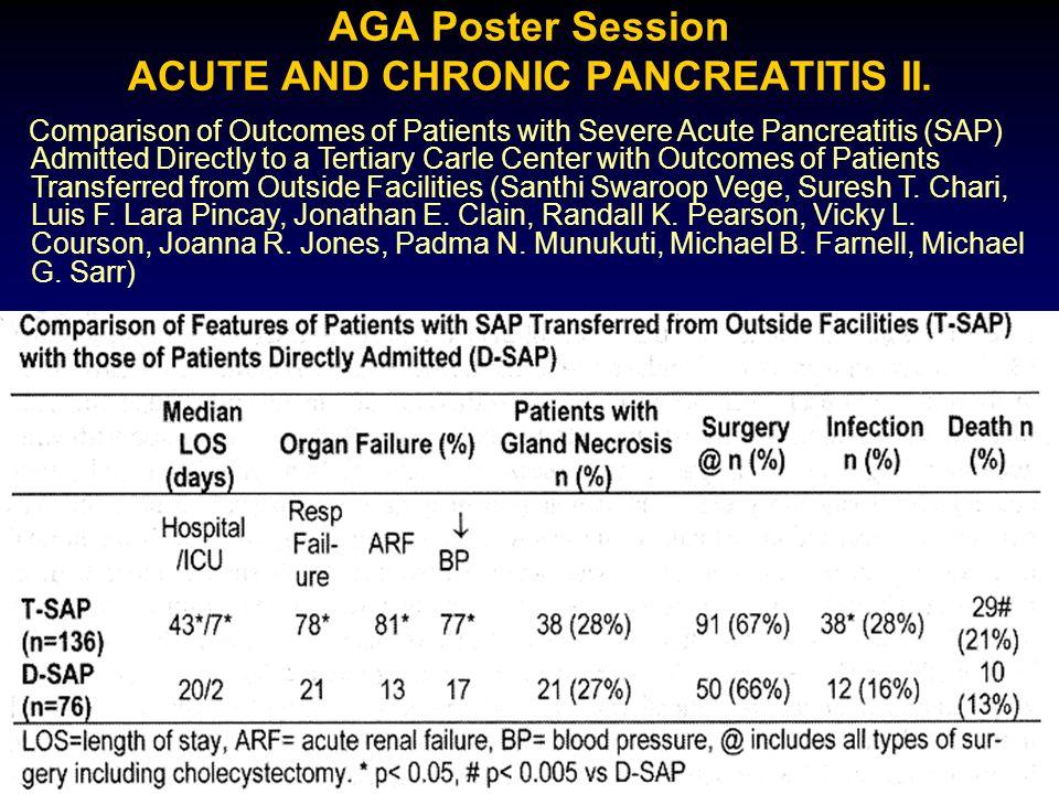 Szérum TAS akut pancreatitisben Lasztity N., Hamvas J., Németh É., Gyökeres T., Biró L., Jobbágy J., Antal M., Pap Á.: The antioxidants as an indicator of severity in acute and chronic pancreatitis J.