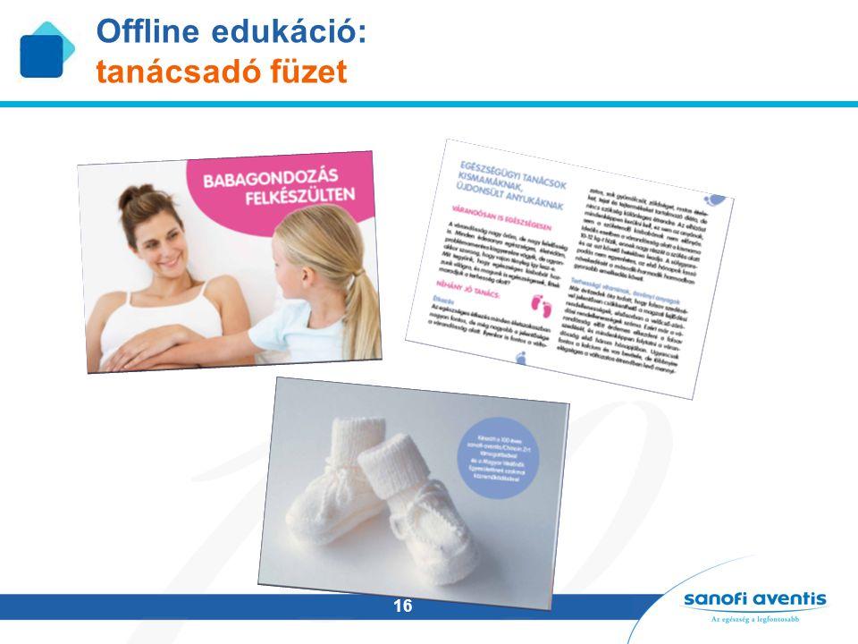 16 Offline edukáció: tanácsadó füzet
