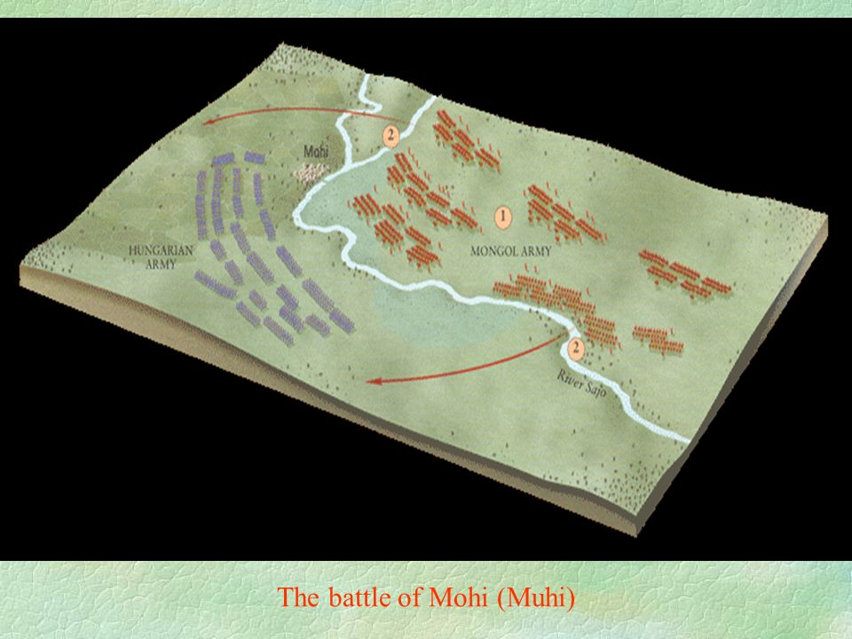 The battle of Mohi (Muhi)