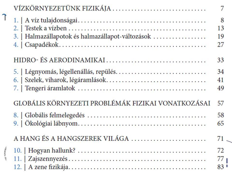 Fejezetek a könyvből – I. (OFI kísérleti tankönyv, A; Ádám Péter, Egri Sándor, Honyek Gyula …..