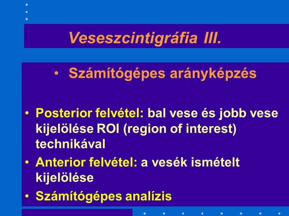 Veseszcintigráfia III.