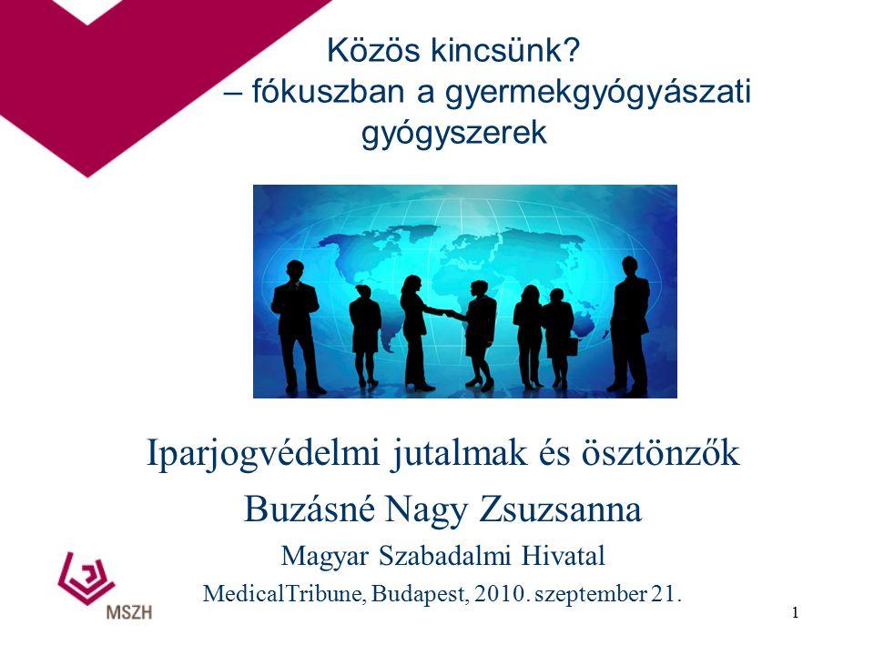 SPC bejelentések száma Magyarországon 2004 május 1-től 179 bejelentés 100 engedélyezés 25 elutasítás 54 folyamatban 12