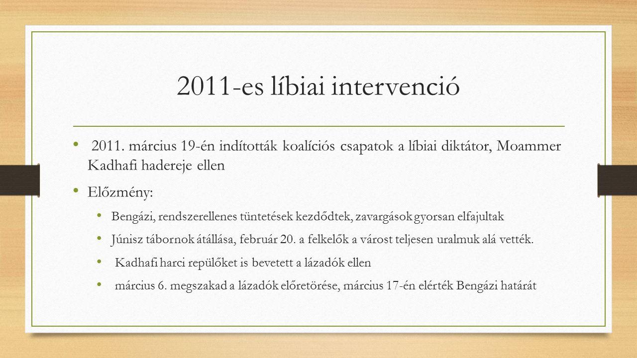 2011-es líbiai intervenció 2011.