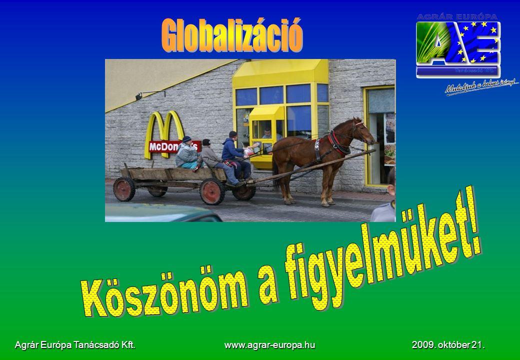Agrár Európa Tanácsadó Kft. www.agrar-europa.hu 2009. október 21.