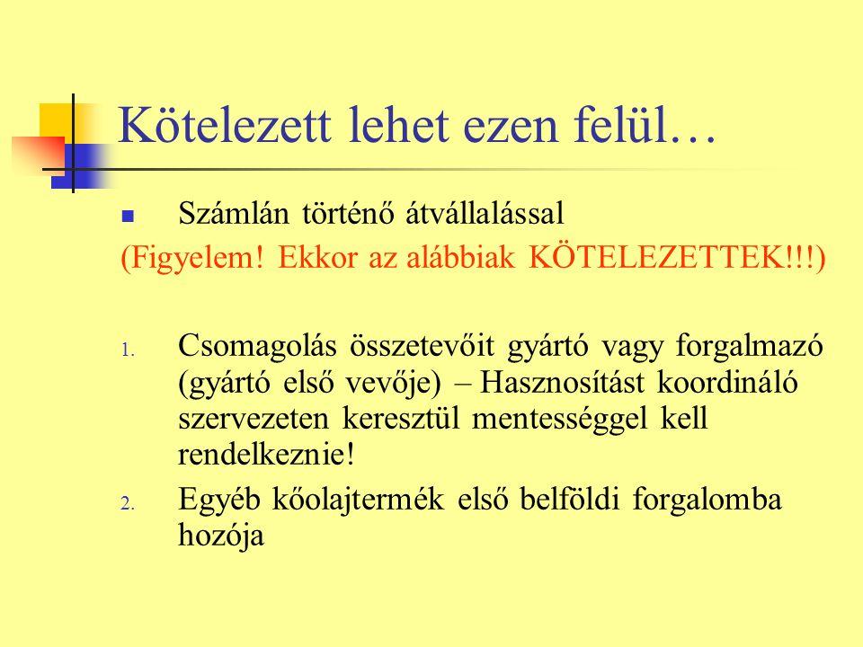 Számlán való feltüntetés Kt.23. § alapján KTM rendelet 14.