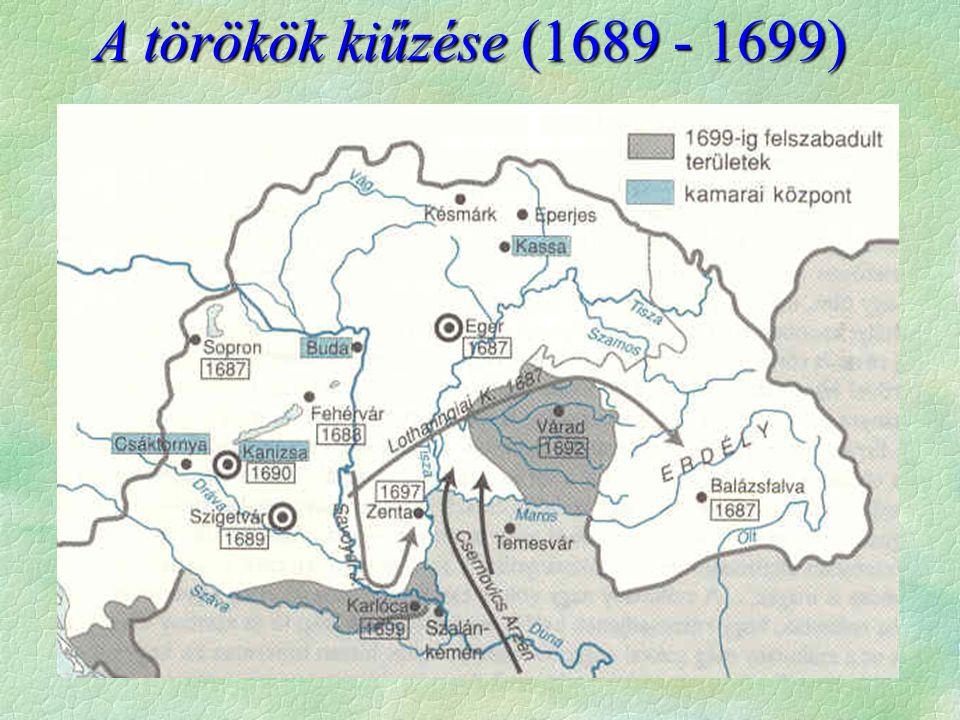 A törökök kiűzése (1689 - 1699)