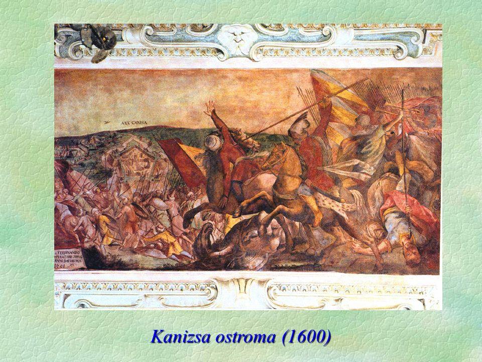 Kanizsa ostroma (1600)