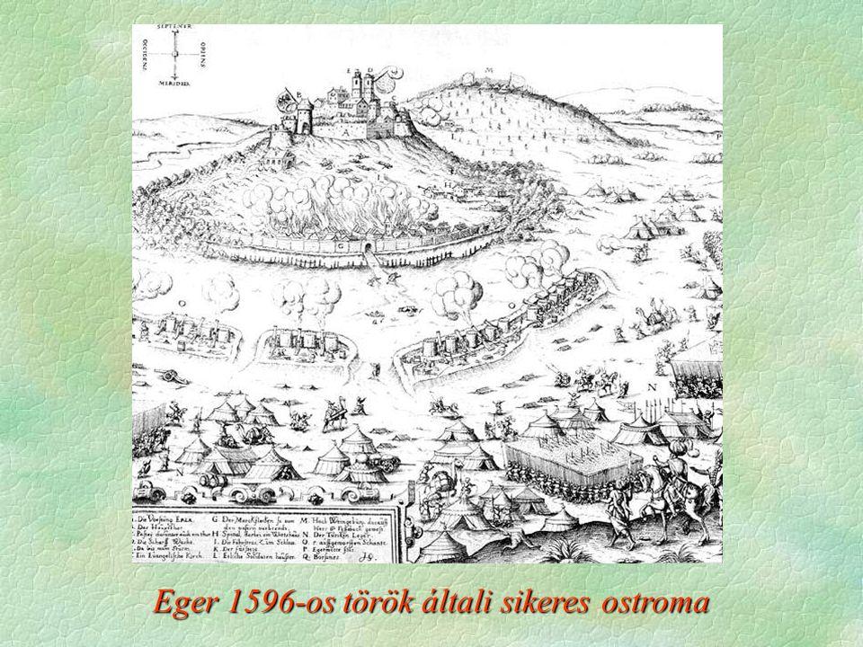 Eger 1596-os török általi sikeres ostroma