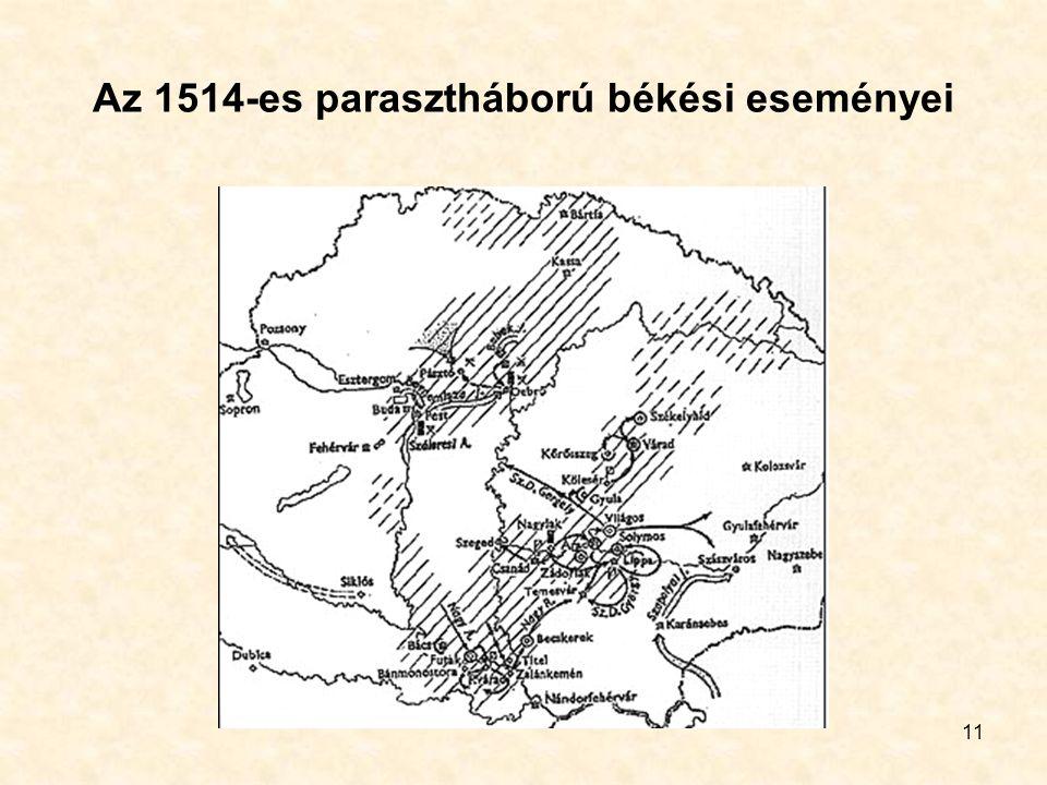 11 Az 1514-es parasztháború békési eseményei