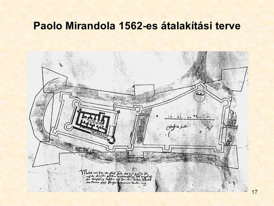 17 Paolo Mirandola 1562-es átalakítási terve
