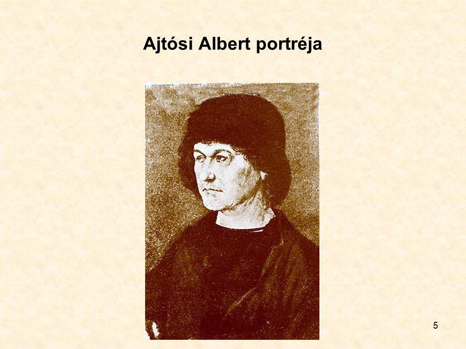 5 Ajtósi Albert portréja