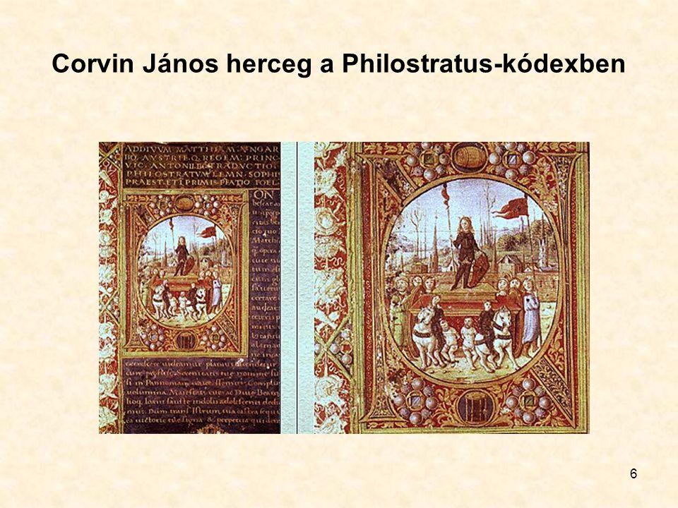 6 Corvin János herceg a Philostratus-kódexben