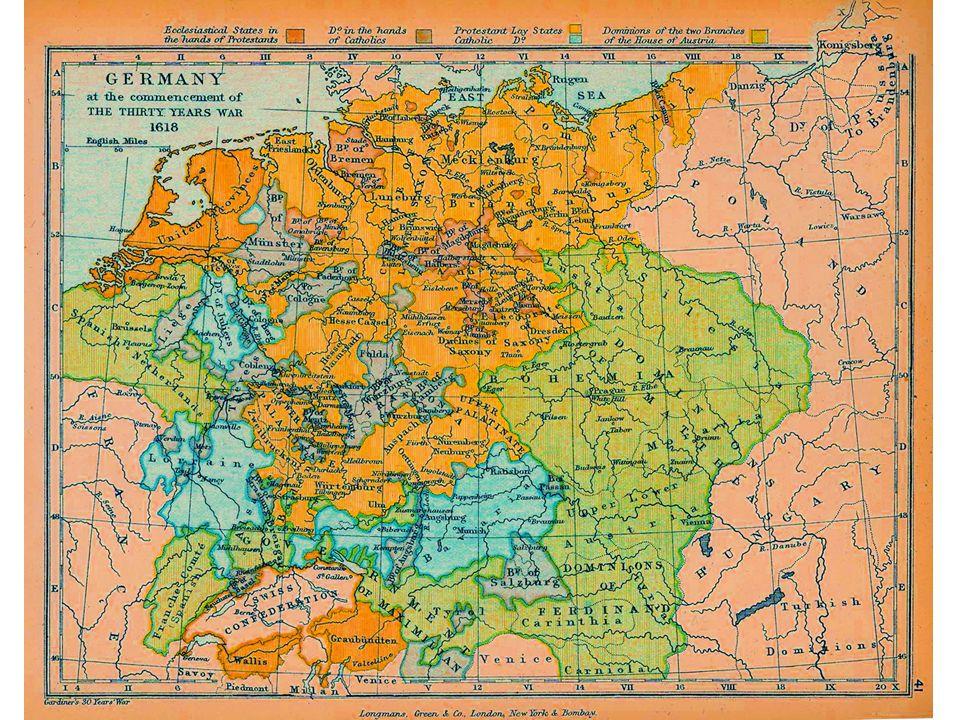VI. A harminc éves háború Német megosztottság Ausztria Protestantizmus betiltása Harcok a törökkel Cseh rendek nem koronáznak Defenesztráció