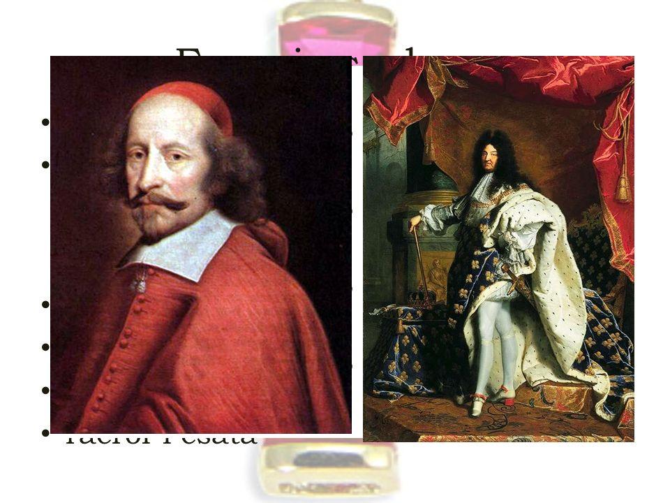 Francia szakasz alés-i kegyelem Franciaország belép a háborúba 1635 vallási jelleg eltűnik európai méretű francia fölény compiégé – 1642 XIV. Lajos és