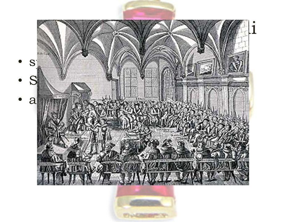 """III. A reformáció háborúi speyeri birodalmi gyűlés – 1529 Schmalkaldeni szövettség augsburgi vallásbéke """"cuius regio eius religio"""" Csak evangélikus és"""
