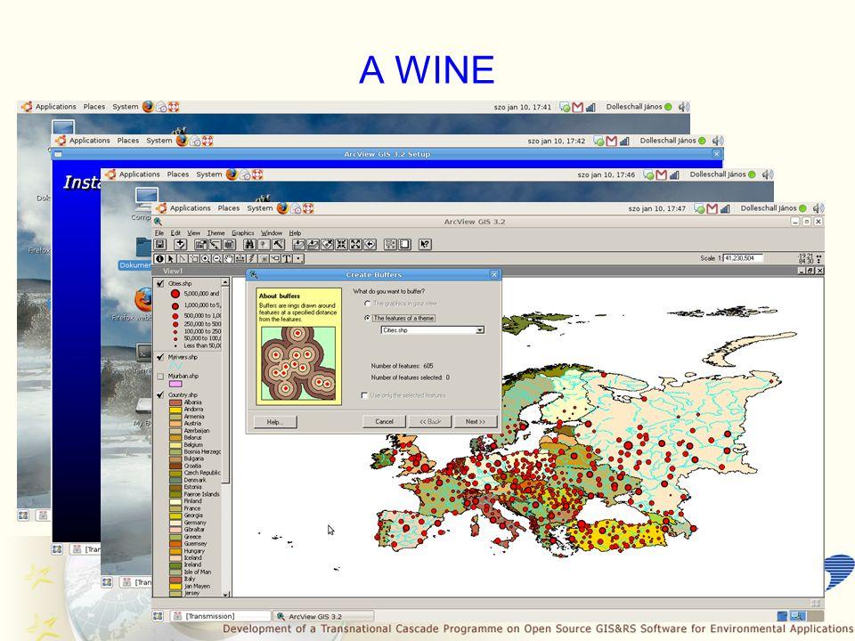 CASCADOSS LIVE DVD Nagyon hasznos termék, mely mindent magába foglal, amire egy geoinformatikusnak szüksége lehet A Fedora disztribúcióra épül, KDE kezelő felületet használ Minden hardvert felismer és beállít automatikusan Tartalmaz rengeteg szoftvert, mint: a Wine, szoftverfejlesztő eszközök, képszerkesztő programok (pl.