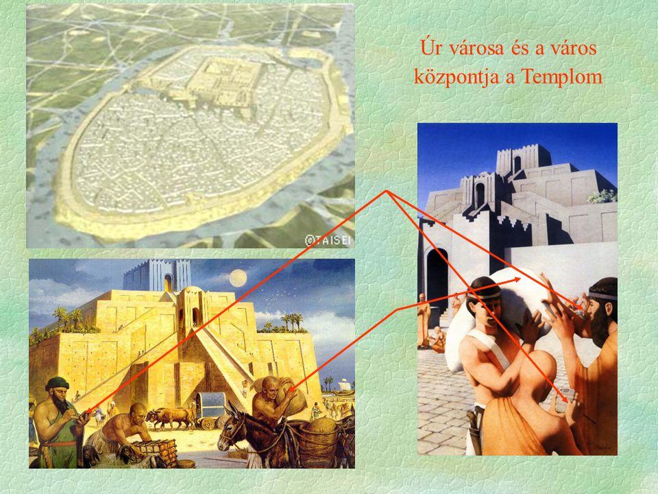 Úr városa és a város központja a Templom