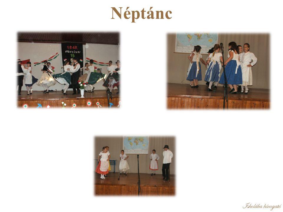 Iskolába hívogató Néptánc