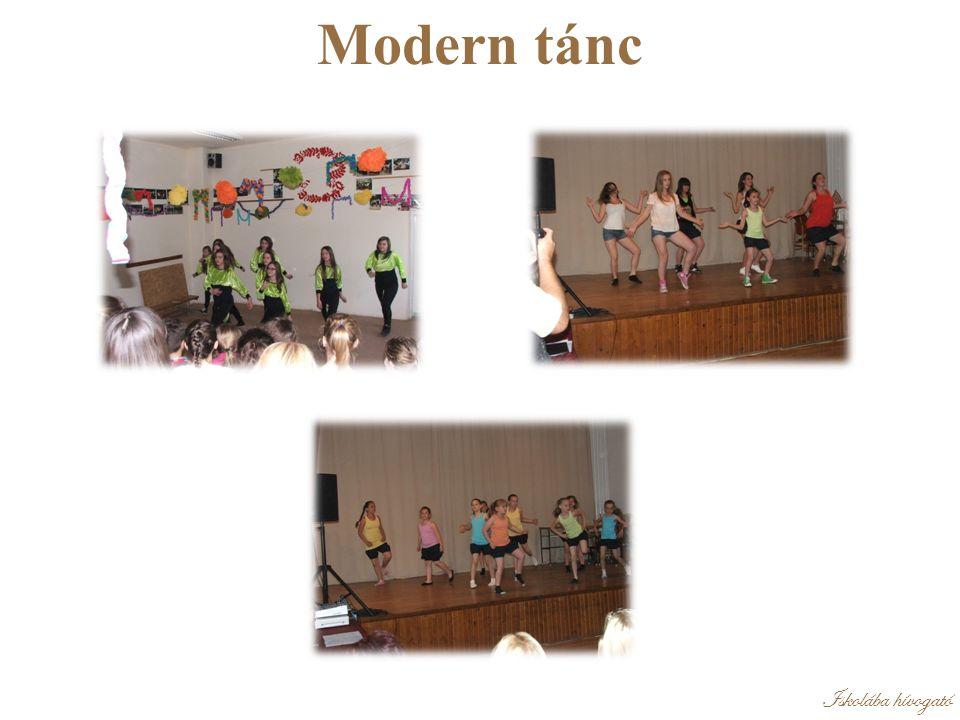 Iskolába hívogató Modern tánc