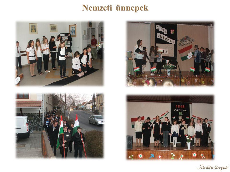 Iskolába hívogató Nemzeti ünnepek