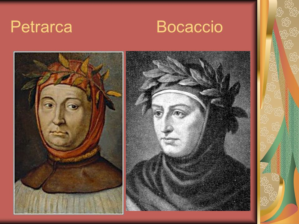 Petrarca Bocaccio