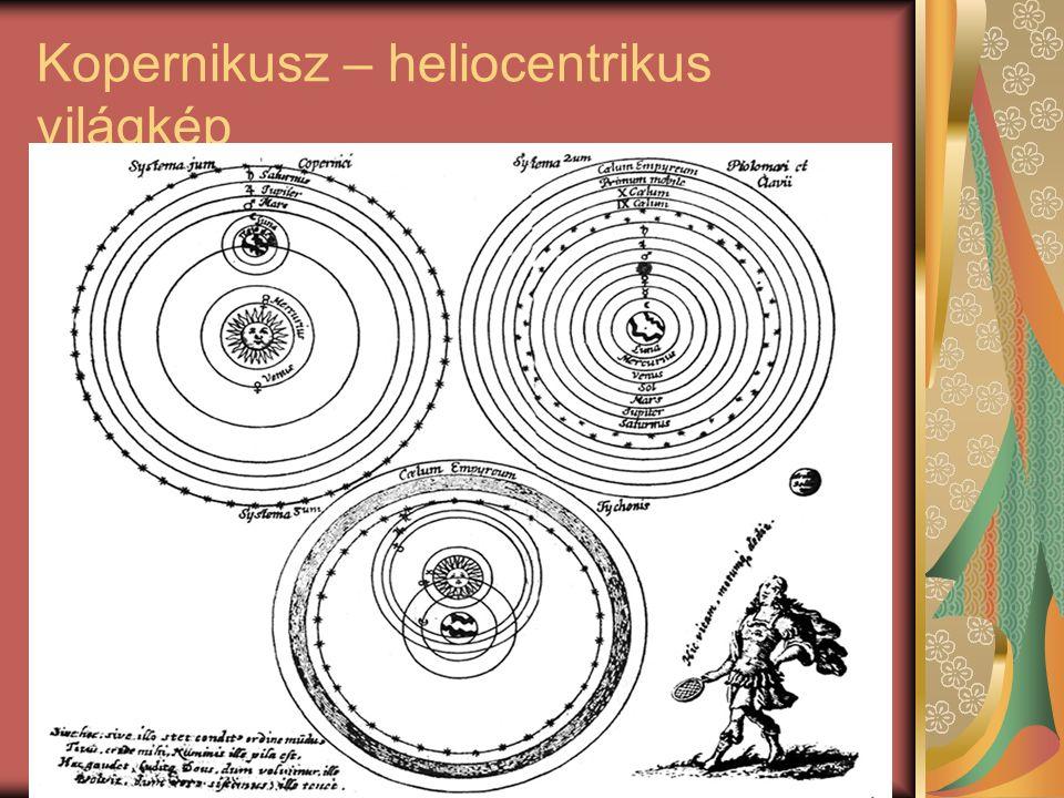 Kopernikusz – heliocentrikus világkép