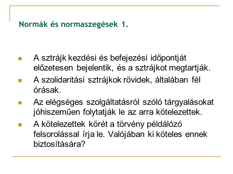 Normák és normaszegések 1.