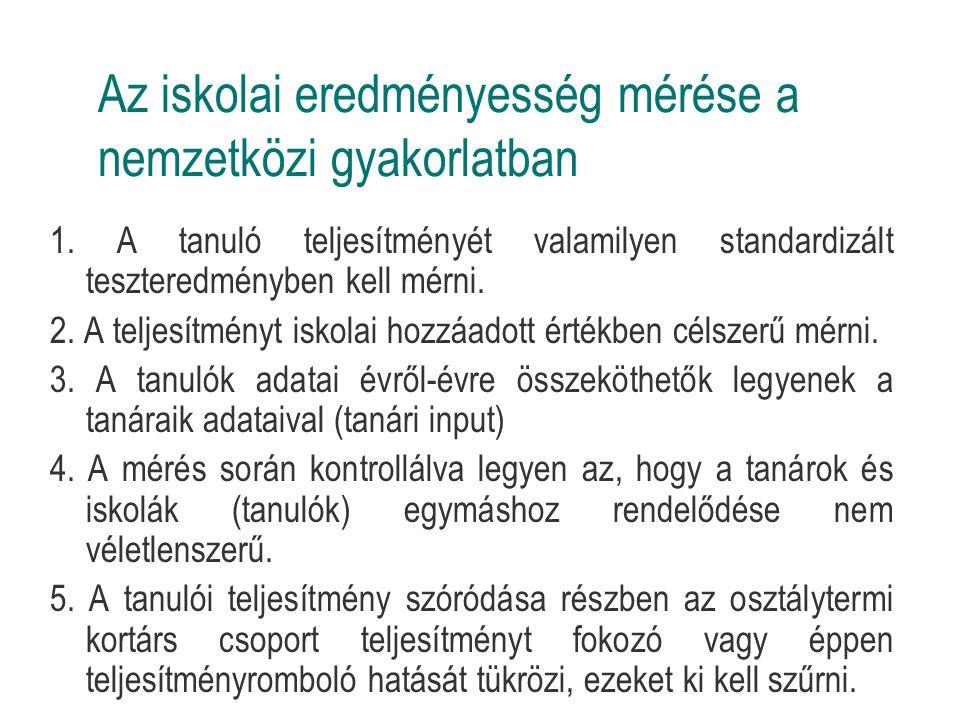 Hatékonysági, eredményességi problémák Pl.nyelvoktatás: 9-10 évi nyelvtanulás esetén kb.