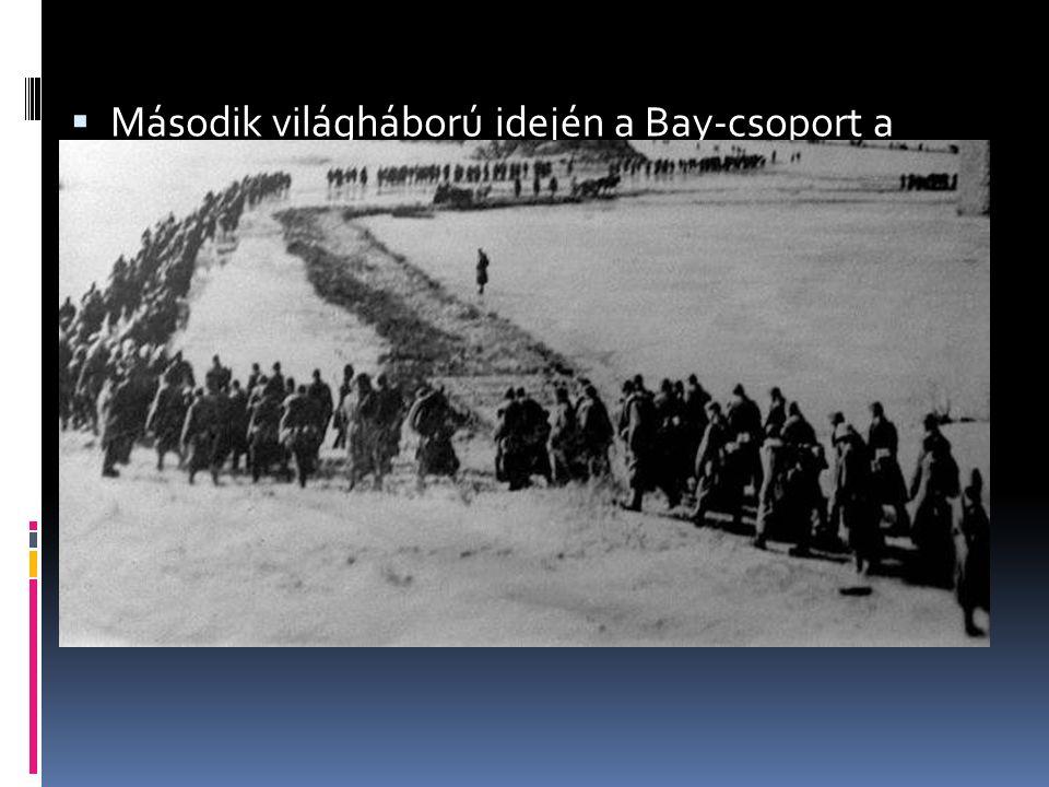  Második világháború idején a Bay-csoport a radar hazai kifejlesztésén dolgozott  A csoportba több zsidó mérnököt és szakmunkást is bevett (megmente