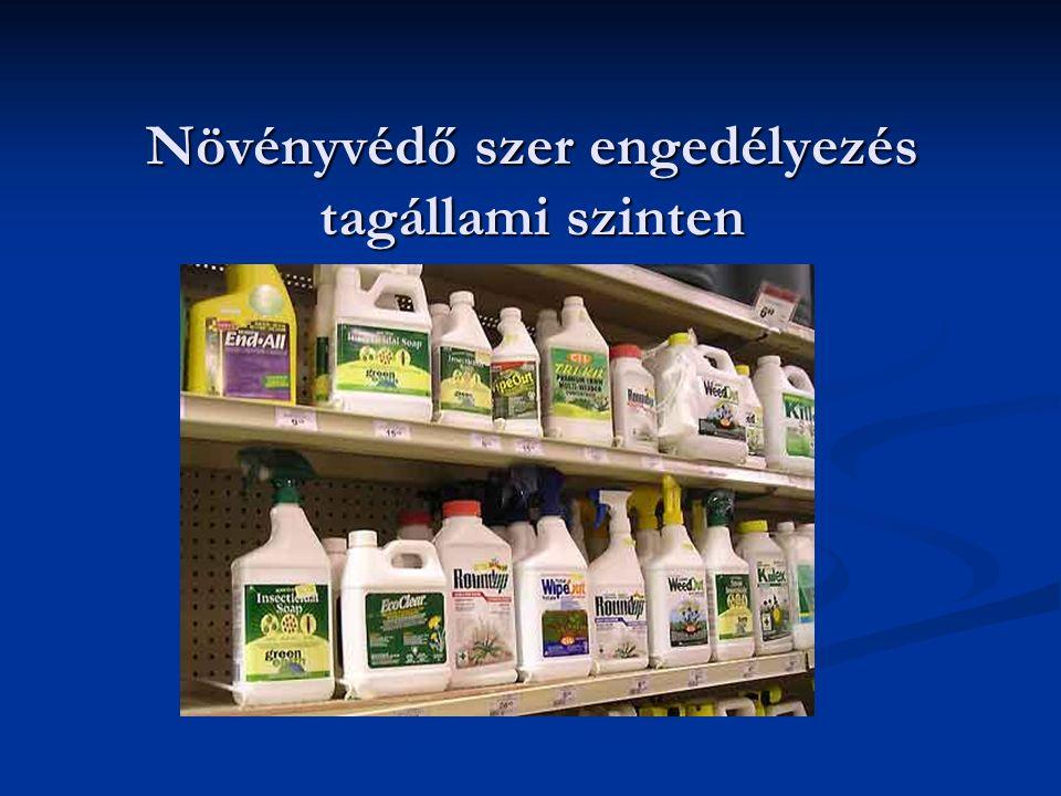 Növényvédő szer engedélyezés tagállami szinten