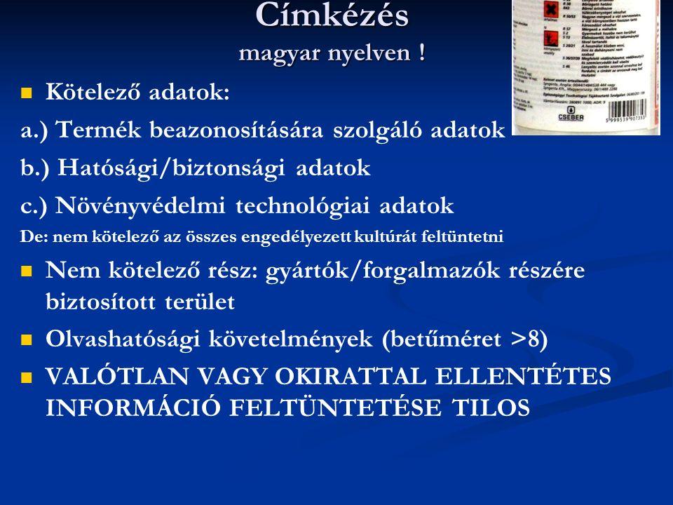 Címkézés magyar nyelven .