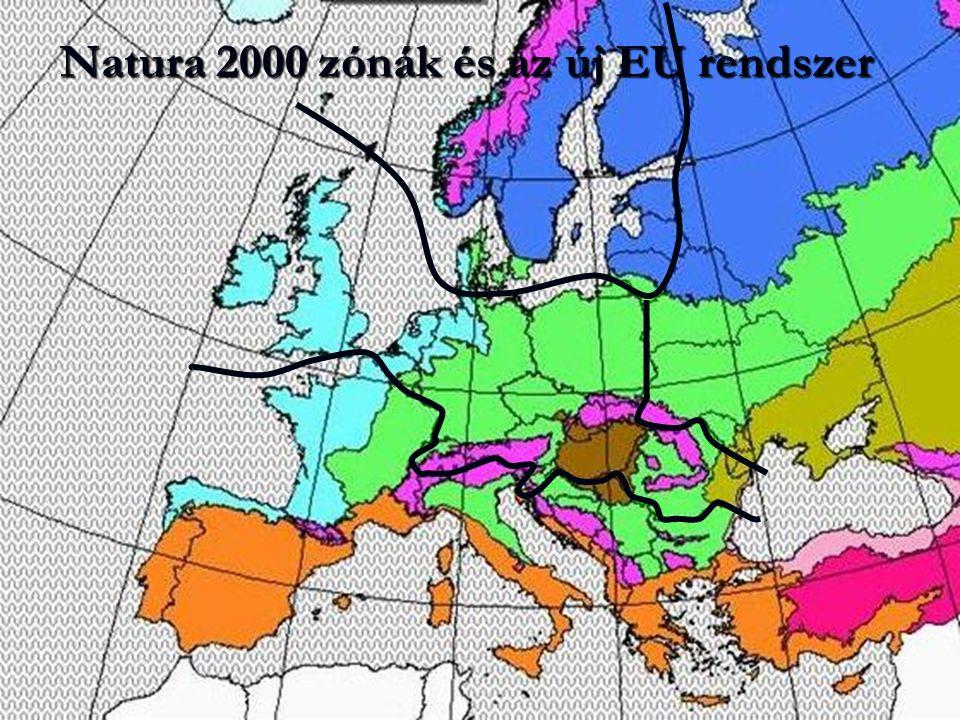 Natura 2000 zónák és az új EU rendszer