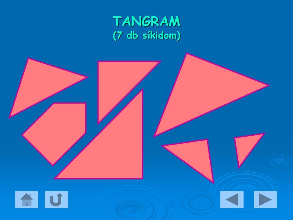 TANGRAM (7 db síkidom)