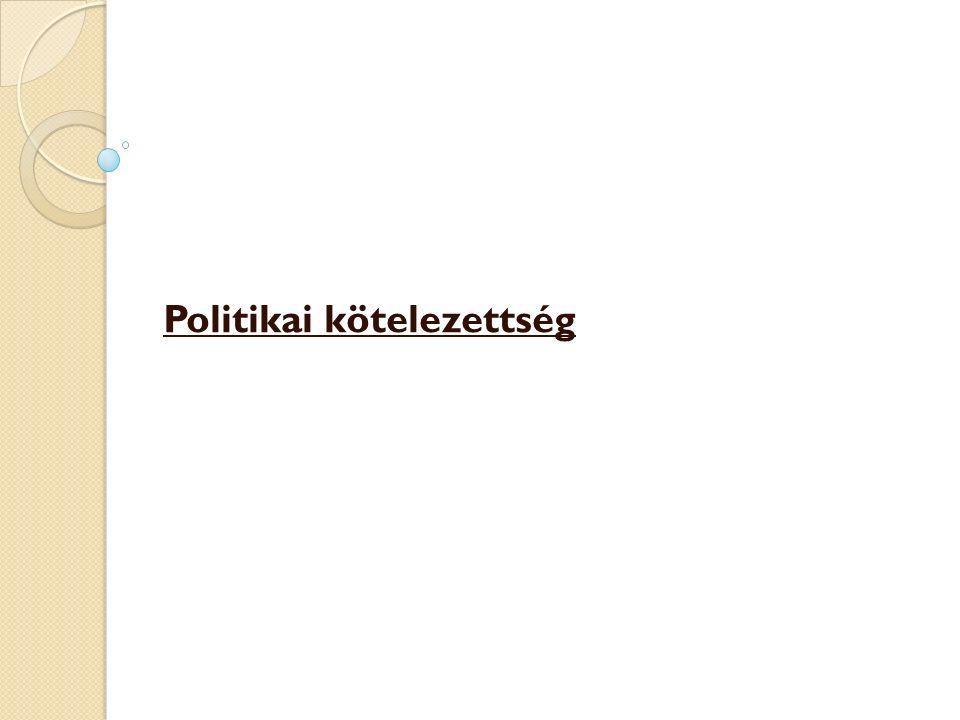 Politikai kötelezettség