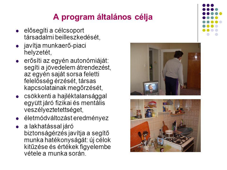 Lakhatást segítő program elemei A lakbér hozzájárulási szolgáltatást az együttműködésre kijelölt szervnél kell kezdeményezni.