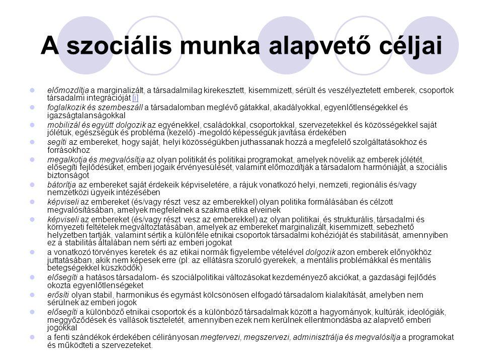 A szociális munka válaszai 2.