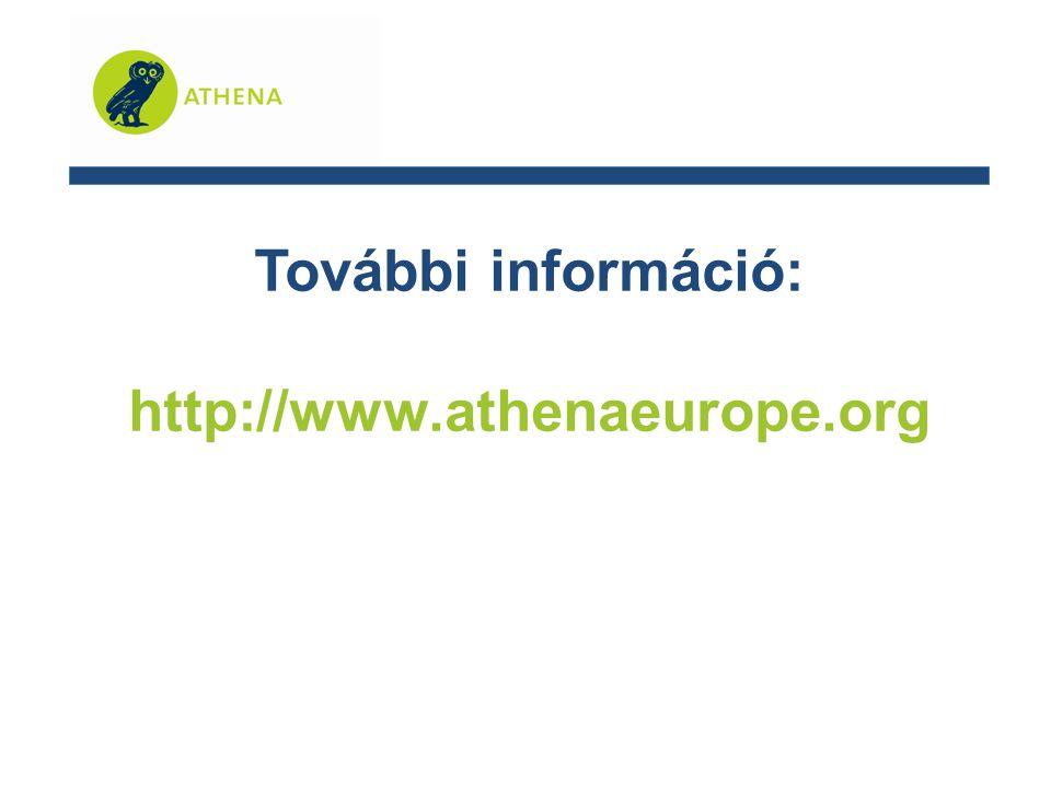 További információ: http://www.athenaeurope.org